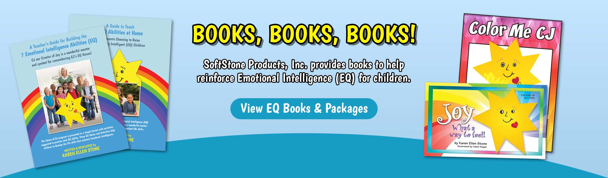 Books Books Books - Banner