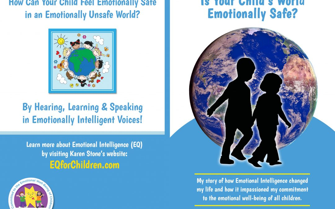 "My New Book…""Is Your Child's World Emotionally Safe?"""