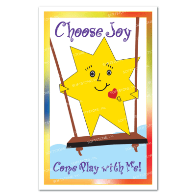 Theme Poster - Choose Joy Come Play with Me!