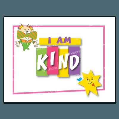 Affirmation Poster, I Am Kind