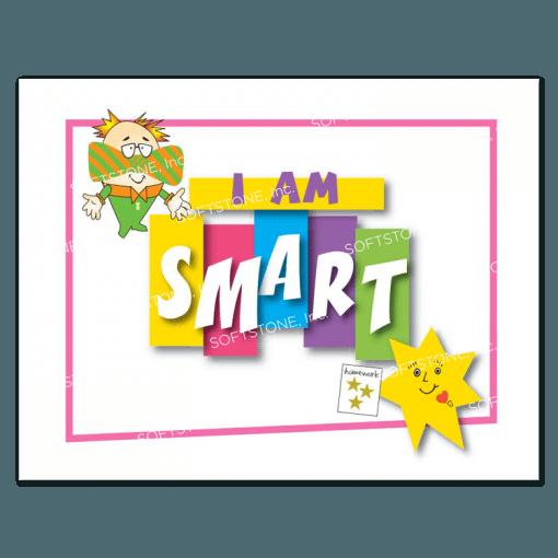 Affirmation Poster, I Am Smart