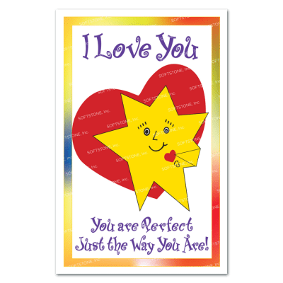 Theme Poster - I Love You, You Are Perfect Just the Way You Are!