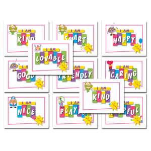 """Set of 11 Affirmation Posters (from the """"Voices of CJ"""" Program)"""