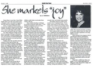 "She Markets ""Joy"""