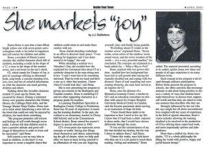 """She Markets """"Joy"""""""